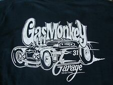 Gas Monkey Custom Hot Rod Garage Dallas Texas TX Automobile Fan T Shirt S
