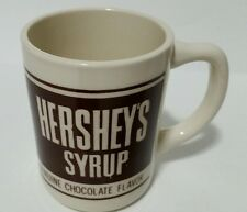 Vintage Hersheys Syrup Genuine Chocolate World Flavor Coffee Cup Mug