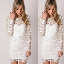 Lace Mini Short Bridal Gowns White Ivory Cheap Beach Garden 2016 Wedding Dresses