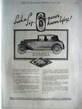1932 RILEY 'Alpine Six' Saloon Motor Car Advert - Art Deco Auto Print AD