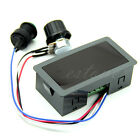 Max 8A DC 12V 24V 6-30V Speed Controller Motor PWM With Digital Switch & Display
