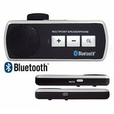 KIT VIVAVOCE BLUETOOTH PER AUTO UNIVERSALE SPEAKER SMARTPHONE TABLET mshop
