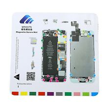 For iPhone 5S Magnetic Screw Chart Mat Repair Professional Guide Pad Tools