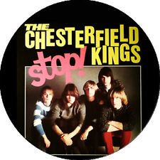 CHAPA/BADGE THE CHESTERFIELD KINGS . pin fuzztones the who kinks miracle workers