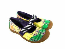 KEEN WOMEN SHOE~SZ.9~KEEN WOMEN MARY JANE PATCHWORK SHOES                  004