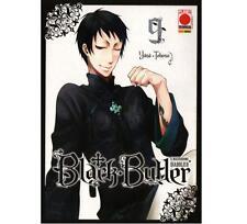 BLACK BUTLER 9 - Il Maggiordomo Diabolico - PLANET MANGA - 1.a EDIZIONE - NUOVO