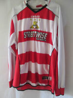 2005-2006 Doncaster Rovers Home Football Shirt Size Medium Long Sleeves  /12208