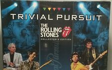The Rolling Stones Board Game Trivia Pursuit Rock 'n Roll Collector's Edition