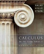 Calculus : One and Several Variables (US HARDCOVER 10/E; ISBN-10: 0471698040)