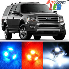 16 x Premium Xenon White LED Lights Interior Package Upgrade for Ford Expedition