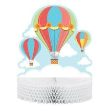 Up, Up and Away Hot Air Balloon Baby Shower Honeycomb Centrepiece Decoration