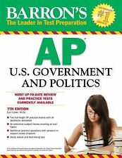 Barron's AP U.S. Government and Politics, 7th Edition by Lader M.A., Curt