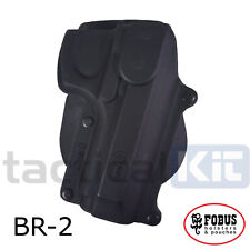 New Fobus Beretta 92F Rotating Paddle Holster UK Seller BR-2 RT (Airsoft)