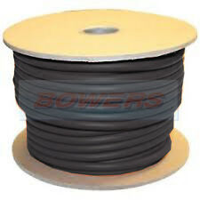 BLACK 30M METRE ROLL PVC HT IGNITION CABLE/WIRE COPPER CORE 7MM² 21/0.30MM