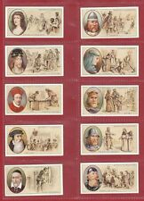 STEPHEN  MITCHELL  &  SON  -  SCARCE  SET OF 50  FAMOUS  SCOTS  CARDS  -  1933