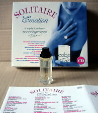 SOLITAIRE EMOTION (19 hits Autori Vari) + Profumo rooccobarocco Box SIGILLATO CD