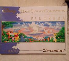 Disney Pooh And Friends Panorama 1000 Piece Clementoni Jigsaw Puzzle