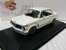 "Minichamps 940022201 # BMW 2002 Turbo Limousine Baujahr 1973 in  "" weiß "" 1:43"