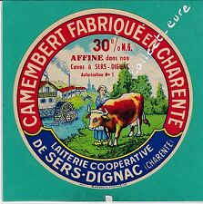 I586 FROMAGE CAMEMBERT SERS DIGNAC CHARENTE MOULIN A EAU
