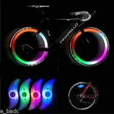 Colorful Cycling Bikes Bicycle Spoke Wire Tire Tyre Wheel LED Bright Lamp Light