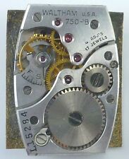 Vintage Waltham Wristwatch Movement - Grade 750 - B - Parts / Repair