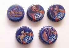 PECADOS DE LA RUMBA POLAR ICE 10 Bottle Caps Tappi Kronkorken Crown Coronas NBA