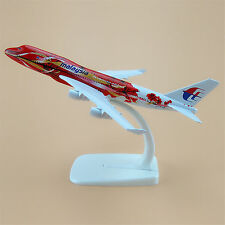 16cm Airplane Model Plane Air Malaysia Airlines Boeing 747 B747 Aircraft Model