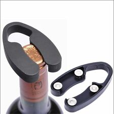 2 x 4-Wheels Handheld Wine Bottle Foil Cutter Opener Rotating Cutting Blades Top