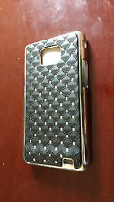Diamond Bling Glitter Chrome Hard Case cover for Samsung Galaxy S2 I9100 SII