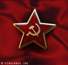 RED STAR HAMMER SICKLE COMMUNISM EMBLEM SOVIET UNION SYMBOL USSR PIN COLD WAR