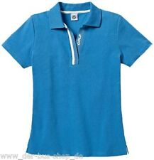 VW Golf - Damen Polo-Shirt / Poloshirt - M - Blau - NEU