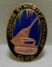 Junior St. Moritz Curling Club um 1920 Bittman Pin