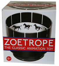 Zoetrope Classic Animation Optical Toy pre cinema illusion replica zootrope new