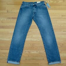 VINTAGE ORIGINAL REPLAY JEANS DENIM SELVEDGE 1990s 36X34 MADE ITALY MV 909 036