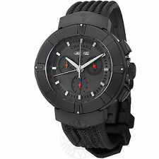 Charriol Men's Celtica Black Rubber Strap Chronograph Watch C44BM173004