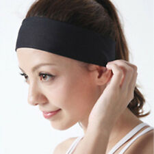 Women Girls Men Unisex Yoga Sport Sweatband Headband Elastic Hair Band Accessory