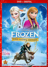 Disney Frozen DVD 2014 Sing-Along Edition DVD only No Digital Copy FREE SHIPPING