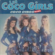 """45  T SP LES COCO GIRLS """"COCO DINGO"""" (POCHETTE SEXI)"""