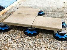 Adjustable risers Pack of 10 Patio/Paving Slabs support - Pedestal - 50 to 80mm