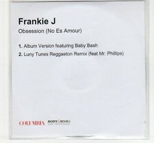 (EC691) Frankie J, Obsession (No Es Amour) - DJ CD