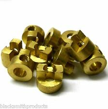 L6122 1/10 Scale Diff Axle Connection Gold Bronze x 10 M4 4mm