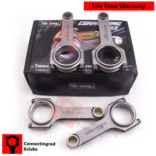 4pc Forged H Beam Connecting Rods for Integra GSR TypeR B18c1 B18c5 Dohc Engine