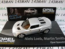 OPE131 1/43 IXO designer serie OPEL collection : SPEEDSTER N.Loeb M.Smith