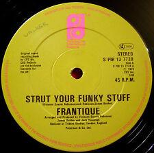 "Frantique Strut Your Funky Stuff 12"" UK ORIG '79 Phil Int. Getting Serious VINYL"