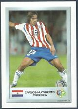 PANINI FIFA WORLD CUP-GERMANY 2006- MINI SERIES- #032-PARAGUAY-CARLOS H PAREDES