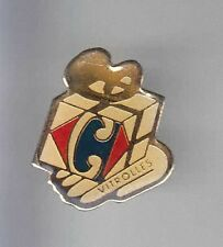 RARE PINS PIN'S .. HYPERMARCHE  CARREFOUR VITROLLES 13 ~AS