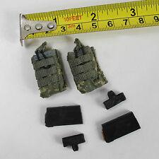 TA58-04 1:6 Hottoys CIA - M14 Magazine w/h Pouches x 2