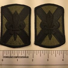 2 Fleur~de-lis Military Patches Could Be For Kids Costume Or Army Cosplay 61SS