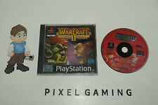 WarCraft 2 II The Dark Saga PAL - PLAYSTATION 1 (PS1) - Complete - FREE SHIPPING