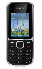 Nokia C Series C2-01 - Black (T-Mobile) BAR Cellular Phone Free shipping